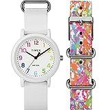 Timex Unisex TWG018200 Weekender Color Rush White/Splash Box Set