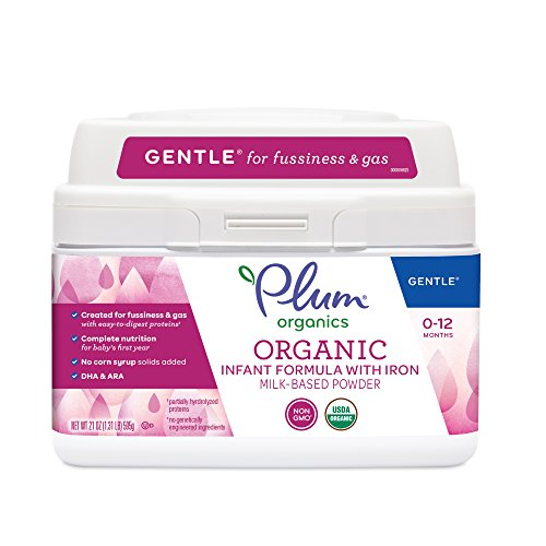 Plum Organics Gentle Organic Infant Formula, 21 ounce