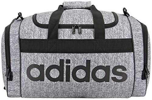 adidas Unisex Santiago Duffel Bag, Onix Jersey/Black, ONE SIZE