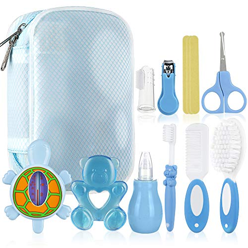 Lictin Baby Grooming Kit Newborn - 12PCS Baby Health Care Set Portable...