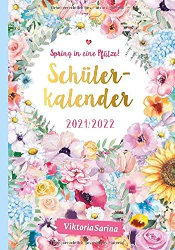 Spring in eine Pfütze! Schülerkalender 2021/2022 von Viktoria Sarina