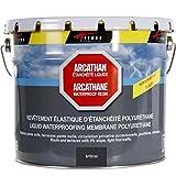Etanchéité Toiture plate, toit plat et toit terrasse : Membrane Elastique Colorée - Résine Polyuréthane ARCATHAN - Ardoise - 15 Kg - ARCANE INDUSTRIES