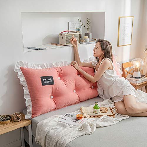 Cojín para mesilla de noche, algodón, lavable, se puede utilizar para sofá de noche, ventana, tatami, coche, oficina, 2,200 x 55 x 15 cm