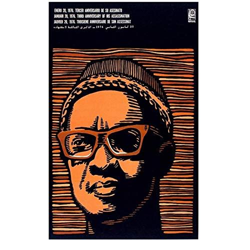wzgsffs Política Amilcar Cabralafrican Guinea Guerra Fría Historia Socialista Póster E Impresión De Arte De Pared para Sala De Estar, Dormitorio, Hogar, 24 X 32 Pulgadas X 1 Sin Marco