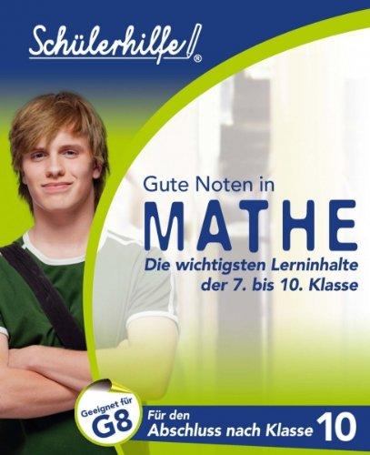 Mathe: Für den Abschluss nach Klasse 10