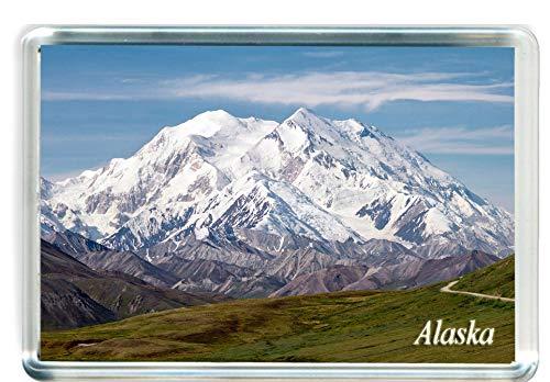 I098 Alaska Imán para Nevera Alaska Travel Fridge Magnet