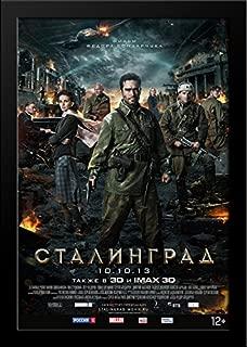 Stalingrad 28x36 Large Black Wood Framed Movie Poster Art Print