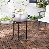 Safavieh PIT2007A Outdoor Collection Azov Pewter and...