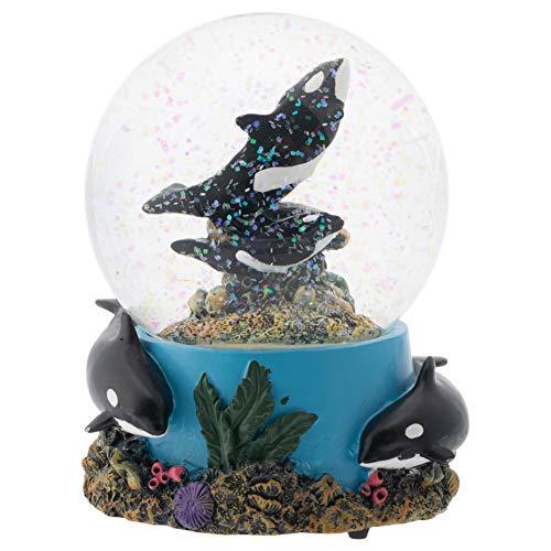 Musical Orca Water Globe