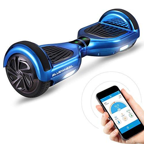 """6,5\"""" Premium Hoverboard Bluewheel HX310s - Deutsches Qualitätsunternehmen - Kinder Sicherheitsmodus & App - Bluetooth Lautsprecher - Starler Dual Motor - LED - Elektro Skateboard Self Balance Scooter"""