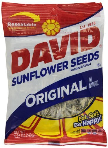 David Sunflower Seed Original Max 71% OFF Flavor Popular products of 5.25-Ounce Pack Bags
