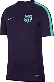 Nike 2018-2019 Barcelona Training Football Soccer T-Shirt Jersey (Purple)