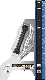 シンワ測定(Shinwa Sokutei) 丸ノコガイド定規 エルアングルPlusアジャスト 45cm 併用目盛 73180