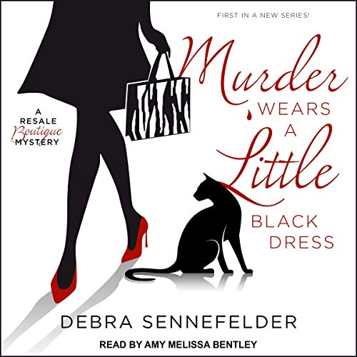 Murder Wears a Little Black Dress audiobook cover art