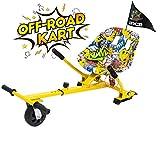 GeekMe Hoverkart, Hoverboard Asiento, Off-Road Hoverkart, Hoverkart con absorción de Impactos, Hoverkart se Adapta a Hoverboard de 6.5.8.5.10 Pulgadas, Regalo para niños