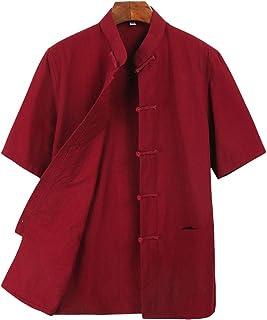 Best Tai Chi Clothing Wing Chun Kung Fu Clothes Short Sleeves Tang Shirt Reviews