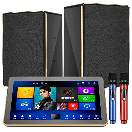Buy Karaoke Machine System, UrbanDrama One-piece KTV Machine 18.5 inch 4K Touch Screen 4TB HDD with ...