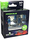 ZENXEAY H7 XENON BLUE Sportscar Edition, Halogen...