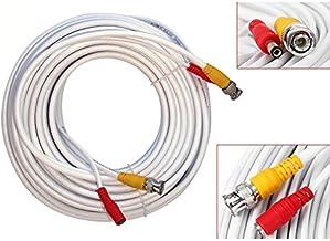 20 m kabel voor bewakingscamera video DVR kabel camera CCTV BNC DC voeding beveiligingssysteem