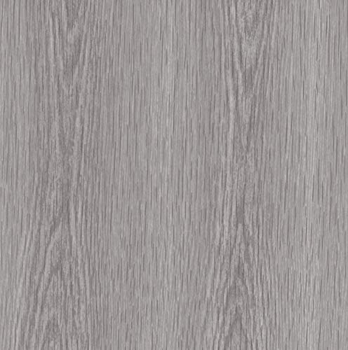 Venilia Klebefolie Perfect Fix Kiefer Grau, Holzfolie, Dekofolie, Möbelfolie, Tapeten, selbstklebende Folie, keine Luftblasen, Natur-Holzoptik, 45cm x 2m, Stärke: 0,15 mm, 53339