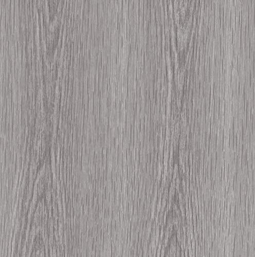 Klebefolie Perfect Fix® Kiefer Grau Dekofolie Möbelfolie Tapeten selbstklebende Folie, PVC, ohne Phthalate, keine Luftblasen, Natur-Holzoptik, 45cm x 2m, Stärke: 0,15 mm, Venilia 53339