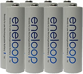 NEW Panasonic Eneloop 4th generation 8 Pack AA NiMH Pre-Charged Rechargeable Batteries -FREE BATTERY HOLDER- Rechargeable 2100 times replaces eneloop  3rd gen  AA 1800 Cycle Ni-MH Pre-Charged Rechargeable Batteries