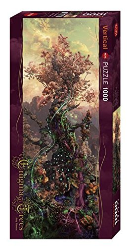 Heye 29828 Phosphorus Vertical 1000 Teile, Andy Thomas, Enigma Trees, Grey