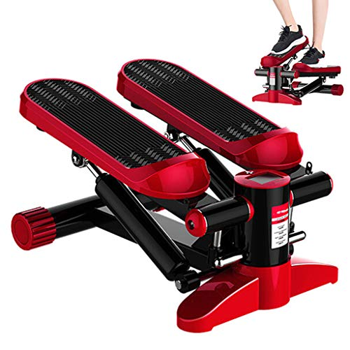 LPWCAWL Fitness Pedal,Elliptischer Stepper,Fußtrainingsgerät mit Sportler und Rutschfestem Fußpedal,Geräuscharm,Tragbare Fitnessgeräte für Das Home Office