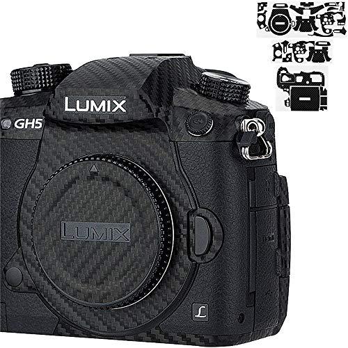 Anti-Scratch Camera Body Skin Cover Protector Film for Panasonic Lumix GH5 Digital Camera - 3M Sticker/Carbon Fiber Pattern