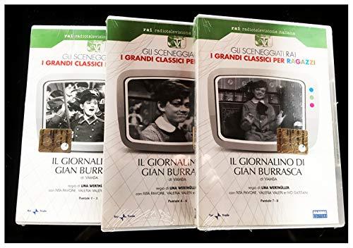 Il Giornalino di Gianburrasca Serie TV completa 3DVD 8 Puntate