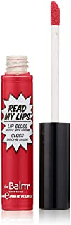 Thebalm Read My Lips Lip Gloss Infused With Ginseng - Hubba Hubba, 0.219 Fl. Oz.