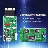 Módulo de control del tiempo del controlador de soldadura por puntos. Visualización digital de la soldadura por puntos para los paquetes de baterías Celda de soldadura niquelada (100A)