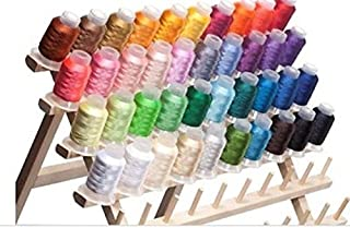 40 Spools Polyester Embroidery Machine Thread