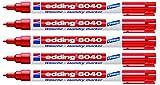 edding 8040 Wäschemarker 1 mm rot