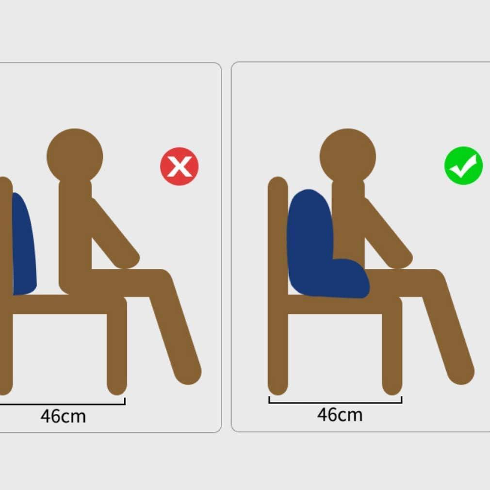 Oreiller Les Femmes Enceintes Coussin Chaise de Bureau Coussin en Coton Taille Taille Dos lit Dossier Lombaire Coussin Lombaire Aiguilles de Pin Blanc