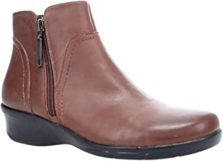 Propét Women's Waverly Ankle Boot, Brown, 7.5