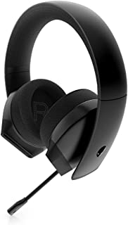 Alienware Stereo PC Gaming Headset AW310H: 50mm Hi-Res Drivers - Sports Fabric Memory Foam Earpads - Works with PS4, Xbox ...
