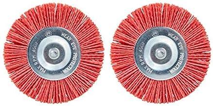 Skil Nylon borstels voor elektrische voegenreiniger (2 x reserveborstels voor de Weedbuster 0700) 2610Z02973