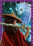 Ravensburger- Raya & The Last Raya y el último dragón, Rompecabezas de 150 Piezas Extra Grandes para niños a Partir de 7 años (12922)