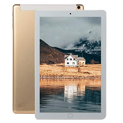 Hanks' shop Android Y12 4G Phone Call Tablet PC, 10.1 inch, 2GB+32GB,Android 6.0 MTK6753 Octa-core up to 1.6GHz, WiFi, Bluetooth, OTG, GPS(Gold) (Color : Gold)