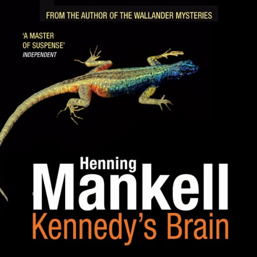 Kennedy's Brain audiobook cover art