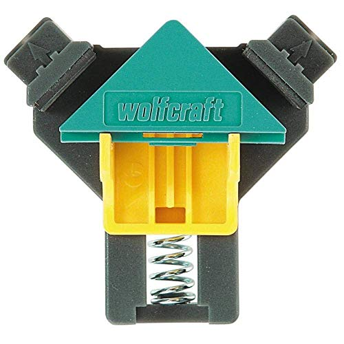 Wolfcraft 3051000 - 2 Sargentos para esquinas, Multicolor, 10-22mm