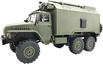 (Shipping from US!!!) WPL B36 Ural 2.4G 1/16 Off-Road RC Car, RTR Military Truck with Powerful Durable 6WD, Mechanical Tra...