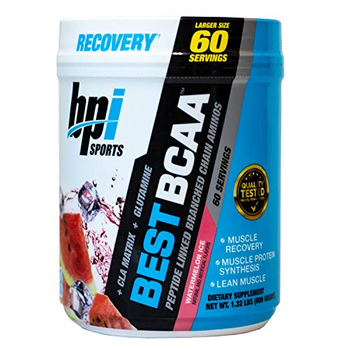 Bpi Sports Best BCAA Sports Supplement, 600 g, Best bcaa (60 serv) Watermelon ice