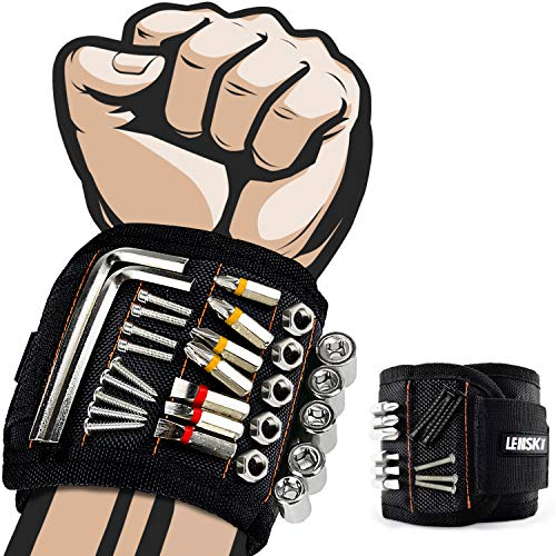 Lenski Geschenke für Männer, Magnetisches Armband Adventskalender Männer 2020, Werkzeug Magnetarmband Handwerker, Vatertagsgeschenk Männer Kleine Geschenke Weihnachten für Männer, Papa, Ehemann