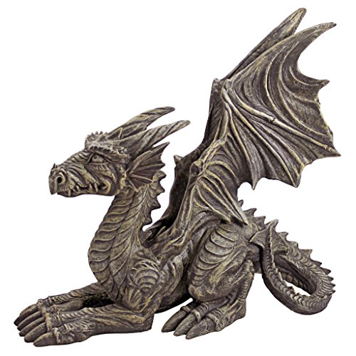 Design Toscano Desmond The Dragon Gothic Decor Statue,...