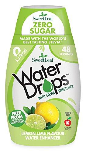 SweetLeaf Water Drops Lemon Lime Flavoured Water Enhancer,...