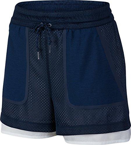 Nike Premium Pack, Pantaloncini Donna, Blue, S