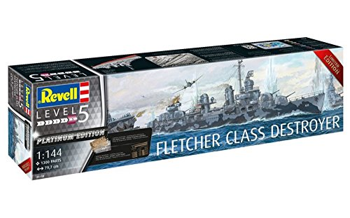Revell Fletcher Class Destroyer Platinum Edition 05150