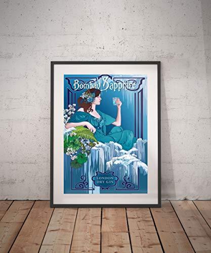Rac76yd bombay poster vintage vintage poster drankje dranken aperitieven alcholische reclame muur decor